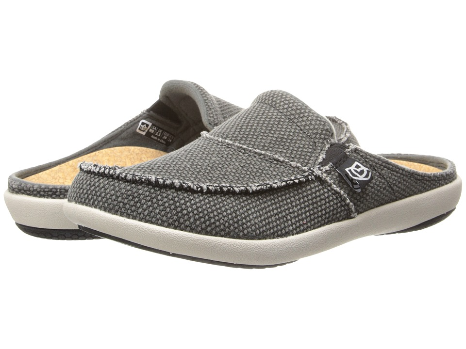 Spenco Siesta Slide (Charcoal Grey) Clogs