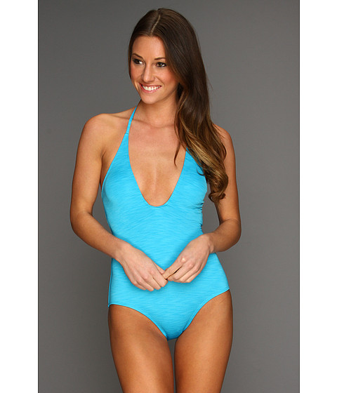 Cheap Hurley Royal One Piece Halter Blue