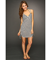 Vitamin A Silver Swimwear - Silver Spaghetti Dress Cover-up
