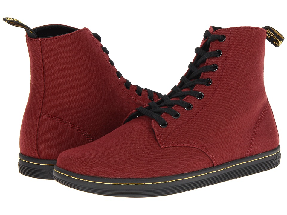 Dr. Martens - Alfie (Cherry Red Canvas) Men