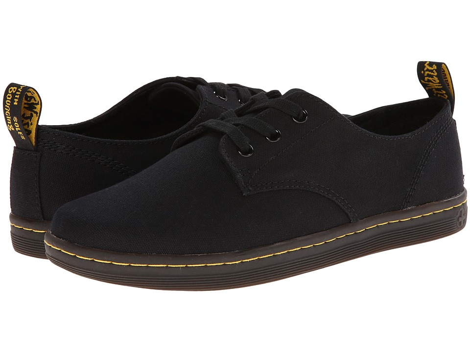 Dr. Martens - Callum 3-Eye Shoe (Black Canvas) Men