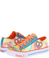 SKECHERS KIDS - Twinkle Toes - S Lights - Shuffles Lace (Toddler/Youth)