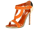 Sergio Rossi - A51280 (Orange/Gold) - Footwear