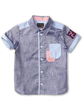 Fendi Kids - Boys' S/S Button Shirt (Big Kids)