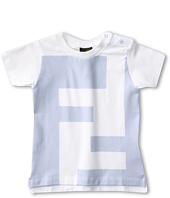 Fendi Kids - Baby Boy S/S Logo Tee (Infant)