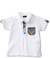 Fendi Kids - Boys' Polo w/ Multi Plaid Trim (Infant)