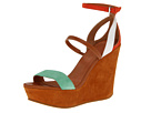 Marc by Marc Jacobs - Color Weave Sandal Wedge (Orange/Tan/White/Green/Nude) Sandal