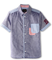 Fendi Kids - Boys' S/S Button Shirt (Little Kids/Big Kids)