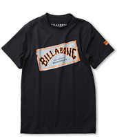 Billabong Kids - Iconic S/S Rashguard (Toddler/Little Kids/Big Kids)