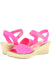 SKECHERS KIDS - Tikis Ruffle Wedge (Toddler/Youth)