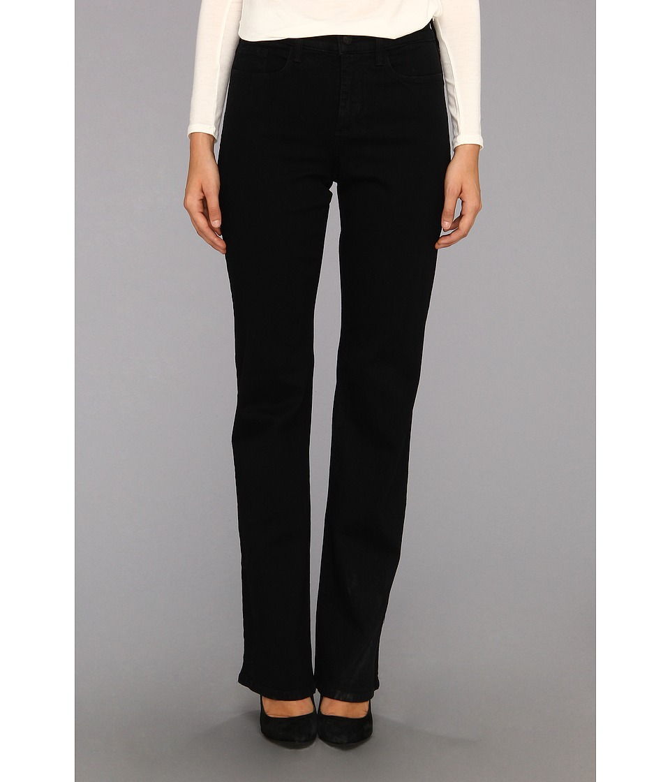NYDJ - Sarah Boot Long Inseam in Black (Black) Women's Jeans