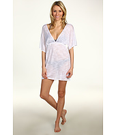 Vitamin A Gold Swimwear - New Paradise Plunge Tunic