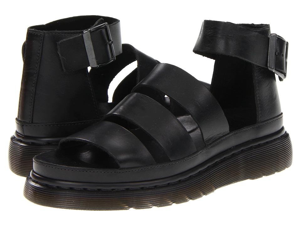 Dr. Martens Clarissa Chunky Strap Sandal (Black) Women