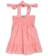 Fendi Kids - Girls' S/L Logo Summer Dress (Toddler/Little Kids)