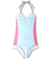 Fendi Kids  Girls\' One Piece Swimsuit w/ Ruffle Trim (Toddler/Little Kids)  image
