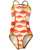 Little Marc Jacobs - Hayley Stripe Bandeau Maillot (Toddler/Little Kids/Big Kids)