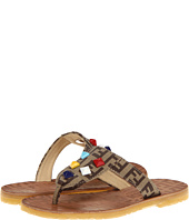 Fendi Kids - Girls Logo Sandal (Toddler)