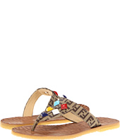 Fendi Kids - Girls Logo Sandal (Toddler/Youth)