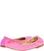 Fendi Kids - Girls Hot Pink Logo Ballerina Flat (Toddler/Youth)