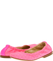 Fendi Kids - Girls Hot Pink Logo Ballerina Flat (Toddler)