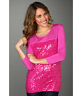 Calvin Klein - 3/4 Sleeve Top w/ Sequin