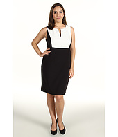 Calvin Klein - Plus Size S/L CB Dress
