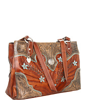 American West - Desert Wildflower Large 3 Compartment Shopper