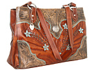 Desert Wildflower Large 3 Compartment Shopper
