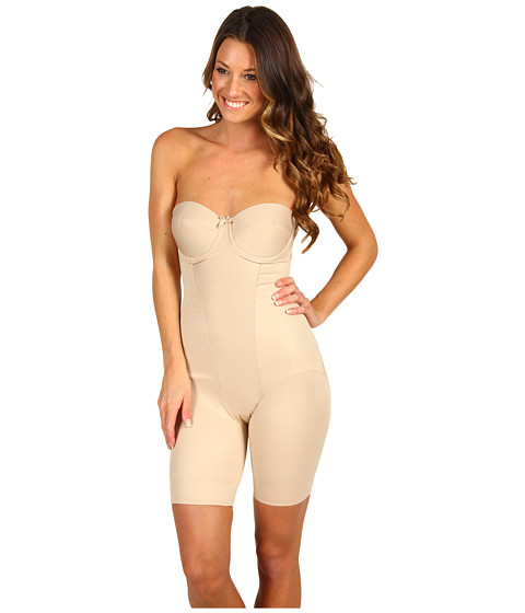 Miraclesuit Shapewear New Classics Strapless Thighslimming