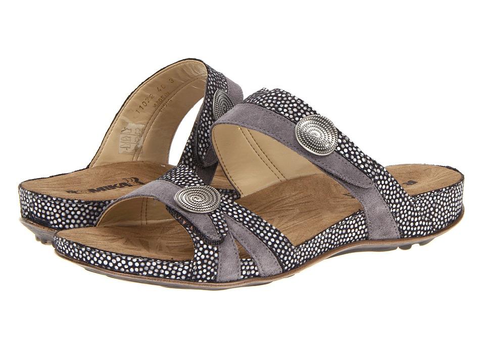 Romika Fidschi 22 Black/Combination Womens Sandals