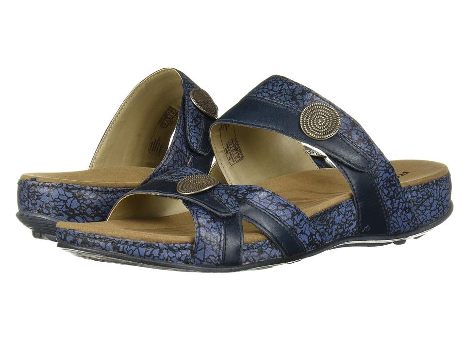 Romika Fidschi 22 (Blue/Combination) Sandals