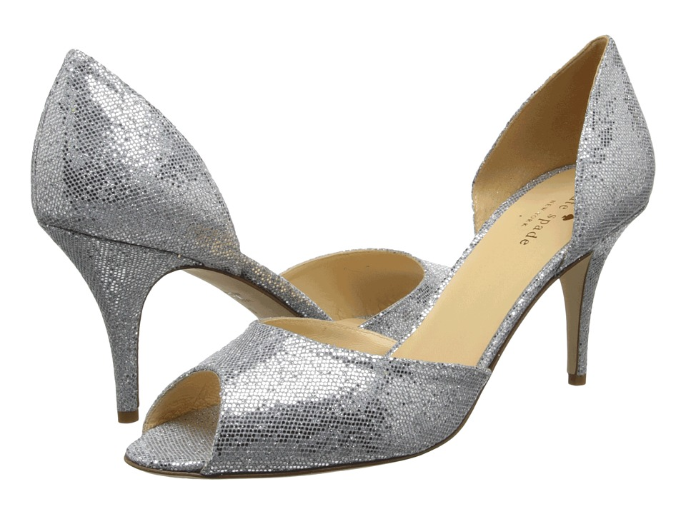 Kate Spade New York - Sage (Silver Starlight) High Heels