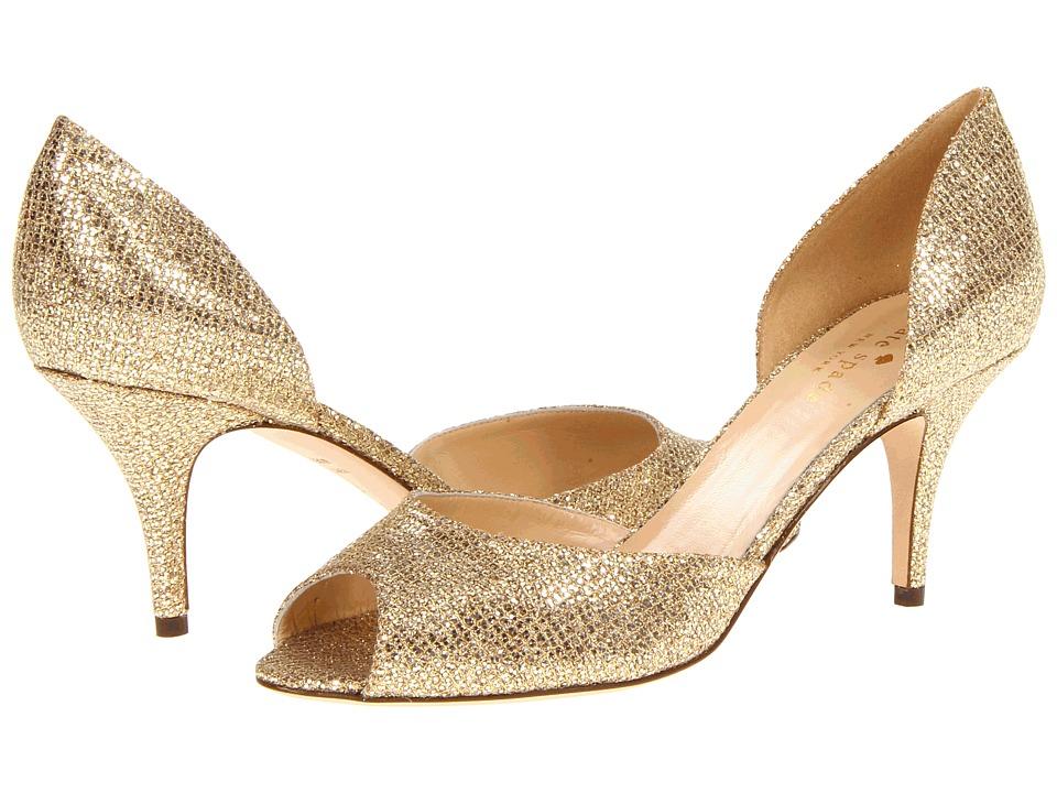 Kate Spade New York - Sage (Gold Starlight) High Heels
