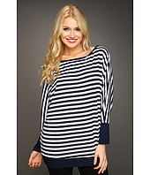 Michael Stars - Yachting Stripe 3/4 Sleeve Dolman Top