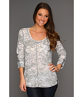 Michael Stars - Scoop Neck Burnout Thermal w/ Pocket