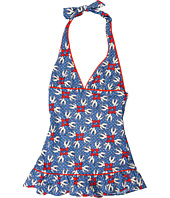 Juicy Couture Kids - Little Love Birds Halter Swimdress (Toddler/Little Kids/Big Kids)