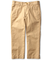 Lacoste Kids - Boy's Cotton Gabardine Flat Front Chino (Little Kids/Big Kids)