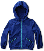 Lacoste Kids - Boy's Full Zip Nylon Packable Windbreaker (Little Kids/Big Kids)