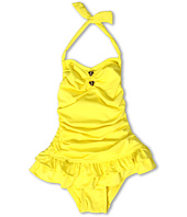 Juicy Couture Kids - Little Miss Divine Hearts Halter Swimdress (toddler/Little Kids/Big Kids)