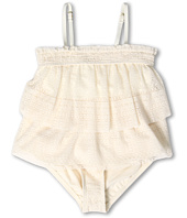 Juicy Couture Kids - Dollface Lace Ruffle Tankini w/ Ruffle Bottom (Toddler/Little Kids/Big Kids)