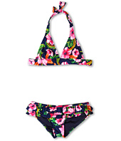 Juicy Couture Kids - Wildflower Child Halter Bra w/ Ruffle Bottom (Toddler/Little Kids/Big Kids)
