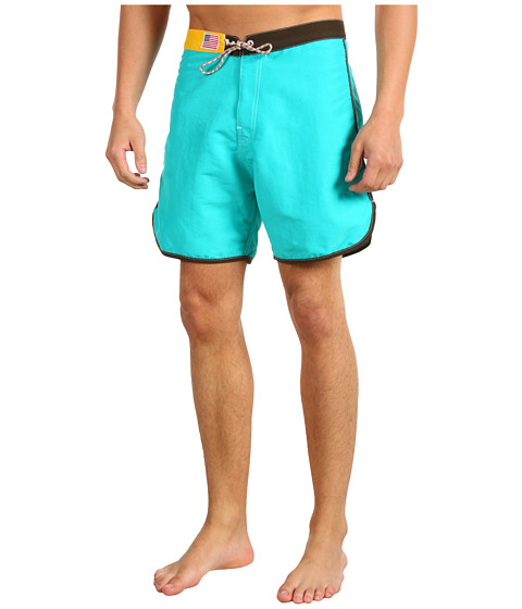 Shop Toes on the Nose - Prawn Boardshort Teal  and Toes on the Nose online - Men, Clothing, Swimwear, Swimsuit Bottoms online Store