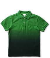 Lacoste Kids - Boy's S/S Dip Dye Pique Polo (Toddler/Little Kids/Big Kids)