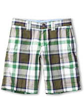 Lacoste Kids - Boy's Plaid Bermuda Short (Little Kids/Big Kids)