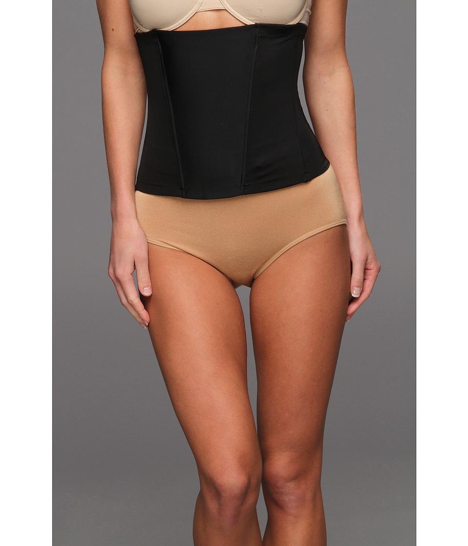 Spanx Boostie Yay Comfy Corset Black Womens Underwear