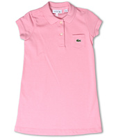 Lacoste Kids - Short Sleeve Classic Pique Polo Dress (Toddler/Little Kids/Big Kids)