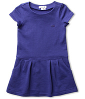 Lacoste Kids - Girl's S/S Crewneck Sweatshirt Dress (Little Kids/Big Kids)