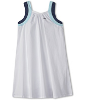 Lacoste Kids - Girl's Sleeveless Cotton Voile A-Line Dress (Little Kids/Big Kids)