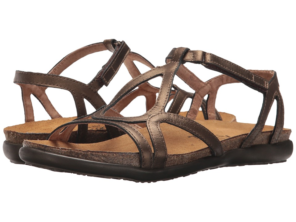 Naot Footwear Dorith (Gold Grecian Leather) Sandals