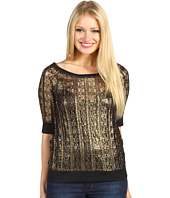 Sanctuary - Noir Lace Sweatshirt